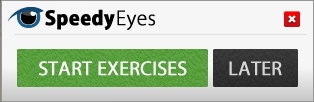 Eye Exercise Reminder Notifications